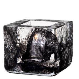 Brick Votive Black
