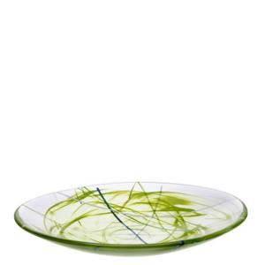 Contrast Plate Lime  - Kosta Boda