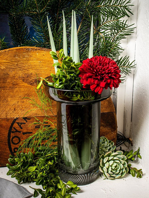 Limelight Vase Grey Rose  - Kosta Boda