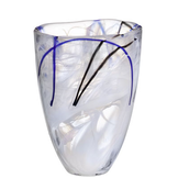 Contrast Vase White