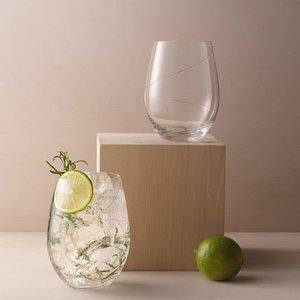 Line Gin Tonic Glass - Kosta Boda