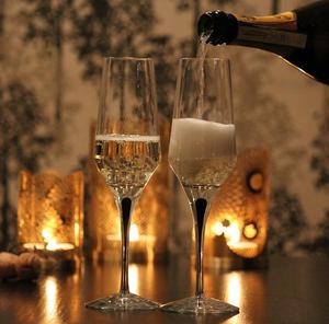 Metropol Champagne Glass - Orrefors