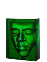 Boheme Ansikte Grön