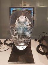 Big Brains Look with metal tripod