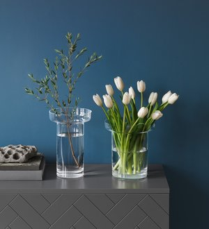 Limelight Vase Clear Tulip Vase - Kosta Boda
