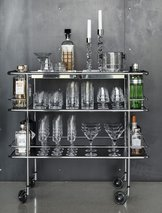 Street Drink Trolley 36 Lammhults