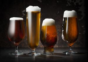 Beer Pils 4-pack - Orrefors Beer Glass