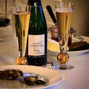 Nobel Champagne - Orrefors Champagneglas
