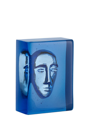 Azur Man Blue Block - Kosta Boda