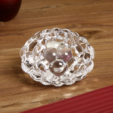 Raspberry Votive Clear Small