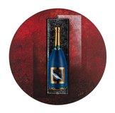 Champagneflaska Blå Sparkling Blue
