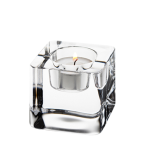 Ice Cube Votive Clear - Orrefors