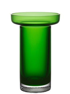 Limelight Vase Green Rose - Kosta Boda
