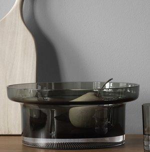 Limelight Bowl Grey - Kosta Boda