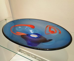 Plate Blue/Red Unique