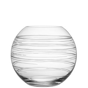 Graphic Vase Globe Large - Orrefors