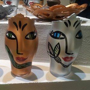 Open Minds Vase Silver - Kosta Boda
