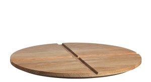 Bruk Oak Lid Large Bowl  Tray  - Kosta Boda