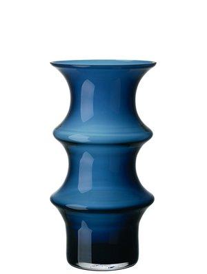 Pagod Petrol Vase Hög Blue - Kosta Boda