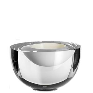 Solid Bowl White Clear - Kosta Boda