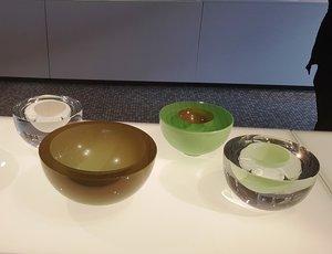 Solid Bowl Lightgreen Clear - Kosta Boda