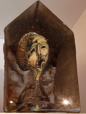 Sculpture Face Scream Halloween Unique