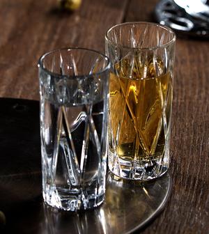 City Shot Glass 2-pack - Orrefors