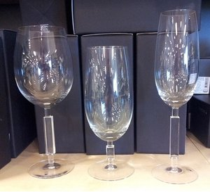 Unique Red Wine Glass - Orrefors