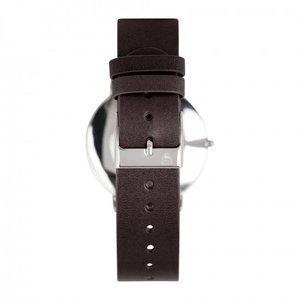 O-Time Armbandsur Mörkbrun med Gunfärgad Urtavla - Orrefors Unisex Klocka