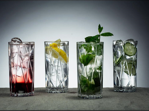City Highball Drink Glasses 4-pack - Orrefors