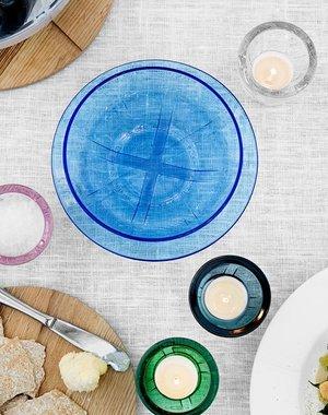 Bruk Bowl Small Blue  - Kosta Boda