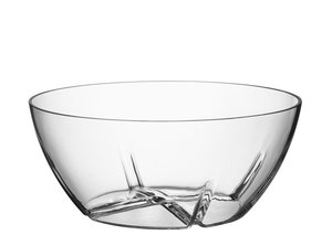 Bruk Bowl Large Clear - Kosta Boda