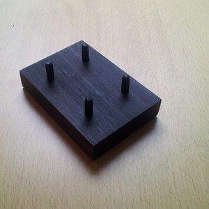 Wooden stand Brains