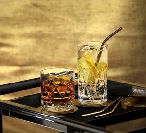 Peak DOF Drink Whiskey Glass 4-pack - Orrefors