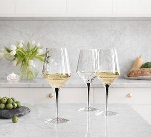 Metropol White Wine Glass - Orrefors