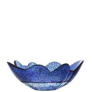 Organix Blue Black Autumn Bowl Small - Kosta Boda