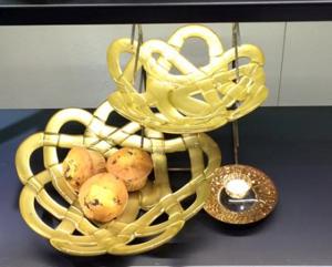 Basket Plate Gold