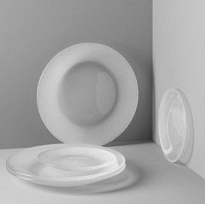 Limelight Side Plate 20 cm 2-pack - Kosta Boda