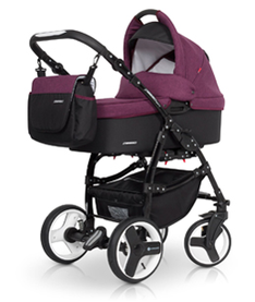Euro-Cart  Passo 3-in-One Duo Kombi sport utan  Bilstol    ( Purple)   Omgående leverans