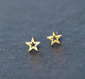 Örhänge Starlight Guld