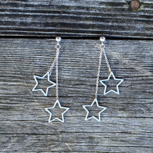 Örhänge To The Stars Silver