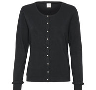 Culture Cardigan Annemarie Pearl Black