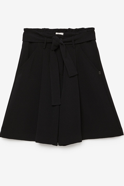 Short Trousers With Sash