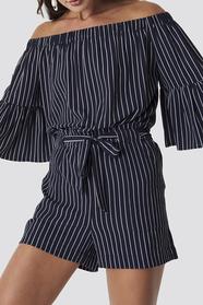 Fatima Sripe Shorts