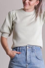 Bora Solid Knit Blouse
