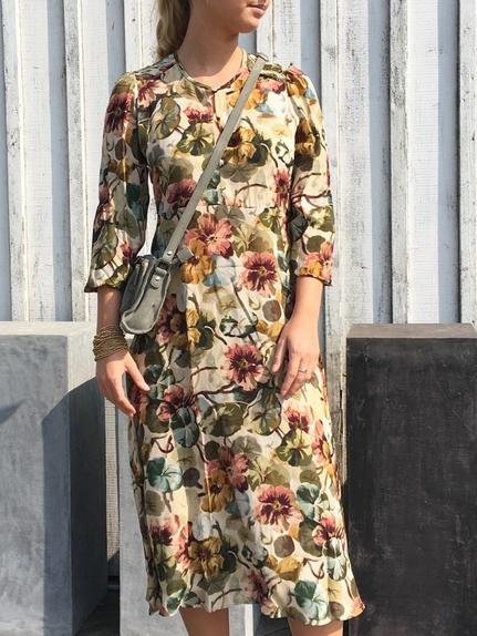 Viscose Long Dress