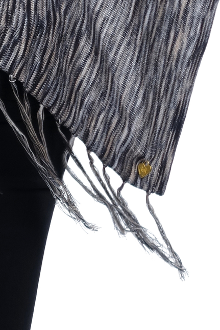 Fine Knit Poncho