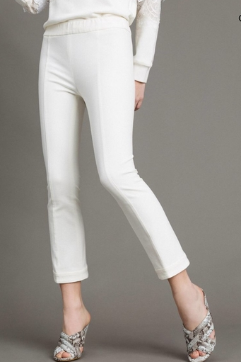 Milan Stitch Flared Trousers