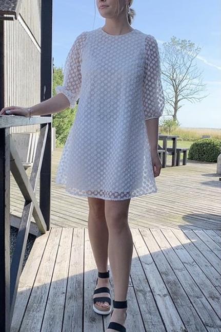 Penny Organza Flower Dress