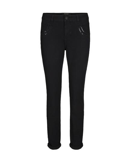 Naomi Shine Black Jeans
